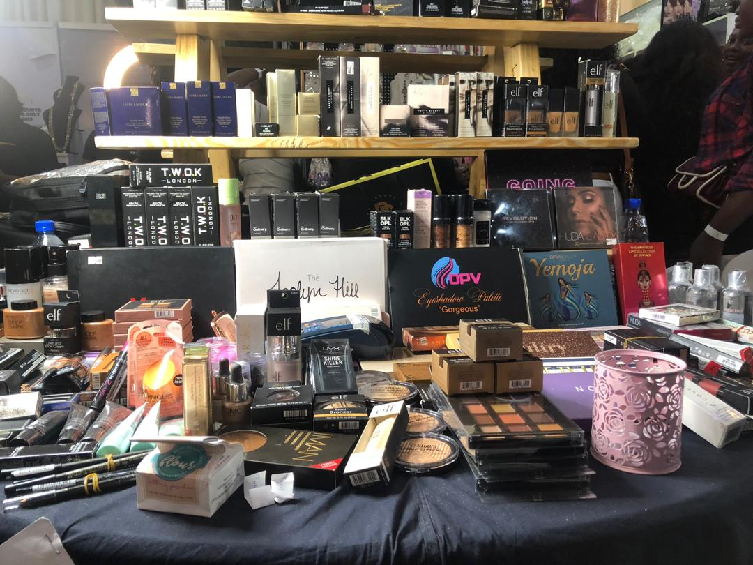 Recap of the just concluded 8th Lagos Make up Fair
